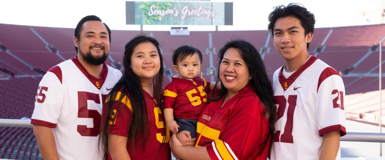 LA Coliseum Family Game Day Photo Package